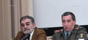 Пресс-конференция членов отряда «Арамо»