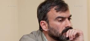 Пресс-конференция ветерана карабахской войны Жирайра Сефиляна