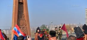 ASALA formation 40th anniversary marked in Yerablur Pantheon