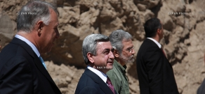 Ceremony of laying foundation of the new building of Matenadaran – Institute of Ancient Manuscripts after Mesrop Mashtots