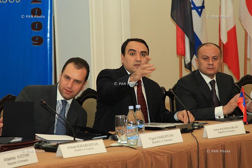 Վիգեն Սարգսյան, Արթուր Բաղդասարյան, Սեյրան Օհանյան