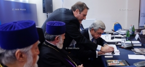 Stamp issued to commemorate Armenian Genocide centenary