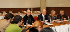 Presentation of the annual report on freedom of speech and the rights of journalists and media in Armenia in 2014