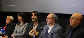 Press conference of «The Cut» film shooting group- Fatih Akın, Mardik Martin, Ruben Dishdishyan and Aram Movsesyan
