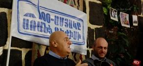 Press conference of Igor Muradyan, former member of Karabakh committee
