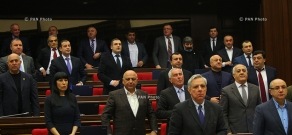 Four-day session of the Armenian National Assembly