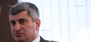 Пресс-конференция начальника паспортного - визового управления полиции Армении Норайра Мурадханяна