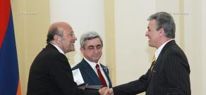 Празднование Дня Первой Республики Армения и вручение наград видным деятелям