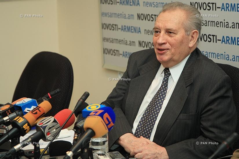 ԵԱՀԿ ՄԽ նախկին համանախագահ Վլադիմիր Կազիմիրովի մամուլի ասուլիսը