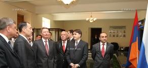 Вице-премьер РФ Сергей Иванов посетил ЗАО « Южно-кавказская железная дорога»