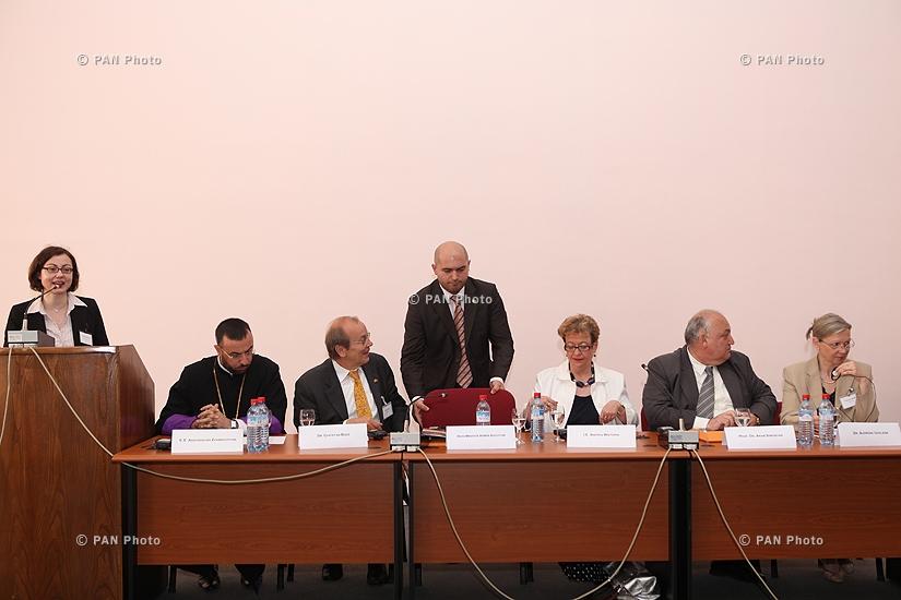 Հայտնի պատմաբան, ցեղասպանագետ Վահագն Տատրյանի (Դադրյանի) հանդիպումը ԵՊՀ պատմության ֆակուլտետի պրոֆեսորադասախոսական կազմի և ուսանողների հետ