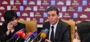 Press conference of the adviser to RA Minister of Defense Gegham Harutyunyan