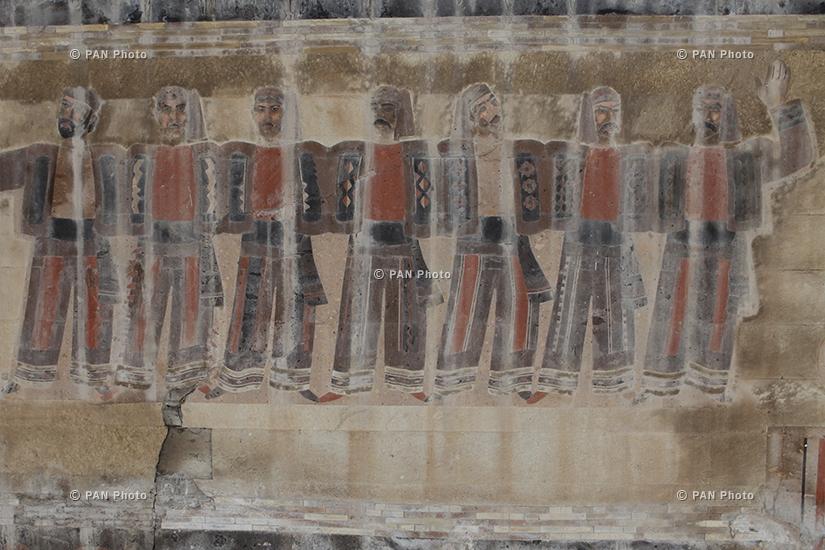 Սևյանի անվան երկաթուղայինների մշակույթի պալատի պատը. պալատը պետք է վերականգնվեր, բայց Կառավարության այդ որոշում դեռ կյանքի չի կոչվել