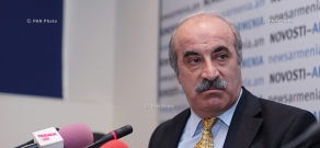 Пресс-конференция Хосрова Арутюняна