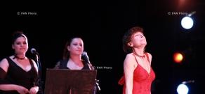 Концерт Седы Азнавур и Лиз Сарьян, посвященный 85-летию Шарля Азнавура