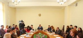 Armenian parliamentary committee on foreign relations holds discussion on genocides of Christians in Ottoman Empire