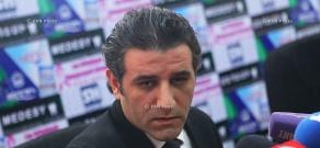 Press conference of Prosperous Armenia Party member Artak Khachatryan