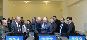 Opening of Digital Library at Yerevan State Medical University named after Mkhitar Heratsi