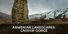 Armenian landscapes: Gnishik gorge (Noravank Gorge), Vayots Dzor Province