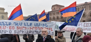 Press conference of National Self Determination Union's leader Paruyr Hayrikyan