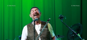 Concert of Jethro Tull British rock group in Yerevan ( Ian Anderson )