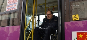 Commissioning buses adapted for transportation of people with disabilities