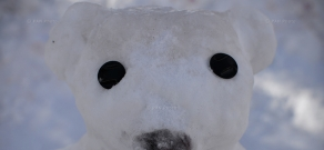 Фестиваль снеговиков в Джермуке