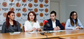 Press conference on