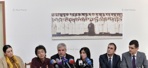 A conference dedicated to the competition of drawings, sculptures and graphic artworks on topic of the Armenian Genocide