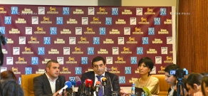 Press conference of Vardan Ayvazyan and Hakob Avagyan