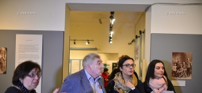 Director of the Russian Museum of Ethnography Vladimir Grusman visits History Museum of Armenia