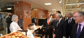 Carrefour supermarket opens in Yerevan