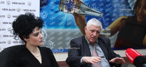 Press conference of sexologist Marat Zakaryan and gynecologist Tatevik Ghorukhchyan