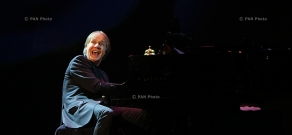 Concert of French pianist Richard Clayderman in Yerevan