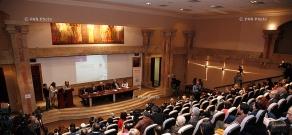 """At the Foot of Ararat"" International media forum in Matenadaran"