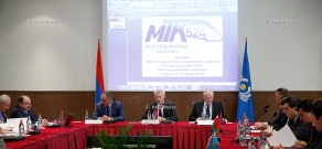 "Meeting of the interstate technical committee on standardization МТК 524 ""Railway Transport"""