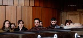 Церемония прощания с народным артистом Армении Кареном Джанибекяном