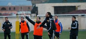 Открытая тренировка национальной сборной Армении по футболу