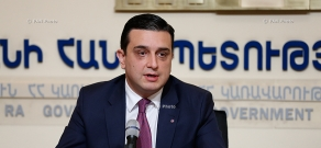 Press conference of RA Minister of Health Armen Muradyan