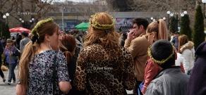 Ծաղկազարդի տոնը Երևանում