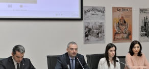 Press conference of Armenian Genocide Museum-Institute's Management Board