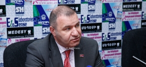 Press conference of MP from Prosperous Armenia Party  Mikael Melkumyan