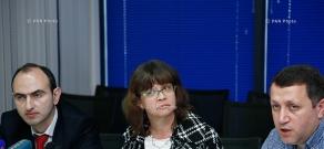 Пресс-конференция главы ереванского офиса Всемирного банка Лора Бейли