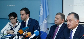 Официальная презентация пилотной программы энергоэффективного уличного освещения в Ереване