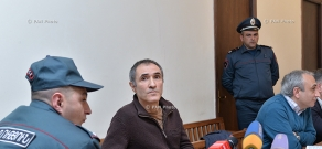 Court session on actor Vardan Petrosyan case