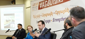 Discussions entitled #AGBUtalks in the frames of the AGBU 88th General Assembly. Day 2