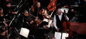 Concert of Armenian National Philharmonic Orchestra with the participation of cellist Alexander Chaushyan and conductor Alain Altinoglu