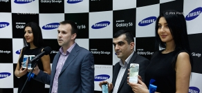 Samsung Galaxy S6 and S6 Edge presentation in Yerevan