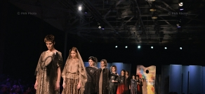 Show of Lilit Margaryan's Gallery 100 collection, dedicated to Armenian Genocide centennial