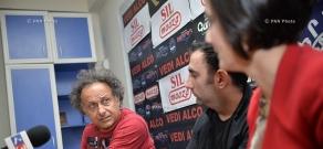 Press conference of actor Sergey Danielyan and director Suren Shahverdyan